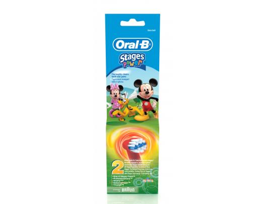 Dantų šepetėlio antgaliai ORAL-B EB 10-2K
