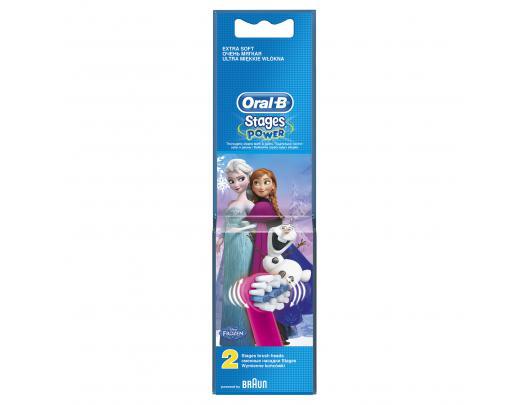 Dantų šepetėlio antgaliai ORAL-B EB 10-2K Frozen