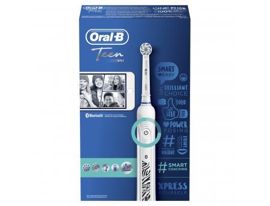 Dantų šepetėlis ORAL-B D16 Smart Teen White