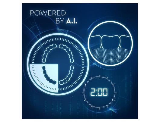 Dantų šepetėlis ORAL-B Genius X 20000N Rose Gold Sensitive  D706.515.6X