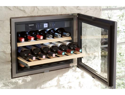 Įmontuojamas vyno šaldytuvas LIEBHERR  WKEes 553 GrandCru    44cm; 48but.