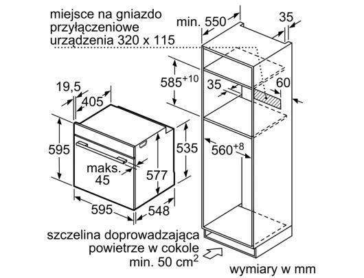 Orkaitė SIEMENS HM638GRS1