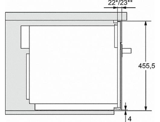 Mikrobangų krosnelė MIELE  M 7244 EDST/CLST