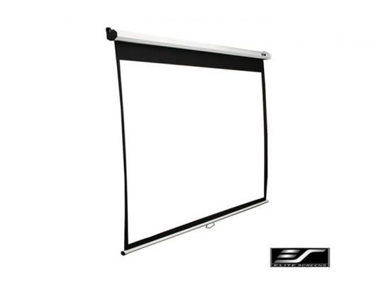 "Projektoriaus ekranas Elite Screens Manual Series M136XWS1 Diagonal 136 "", 1:1, Viewable screen width (W) 244 cm, White"
