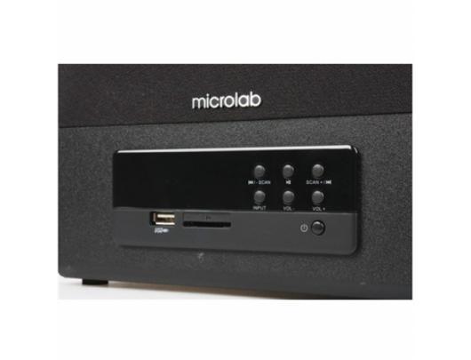 Kolonėlė Microlab FC 530U 2.1, 3.5mm, Black/Dark wood, 64 W