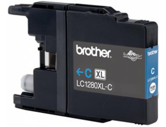 Rašalo kasetė Brother LC1280XLC, Cyan