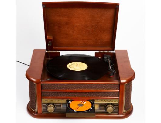 Patefonas Camry CR 1111 su CD/MP3 grotuvu, įrašantis, USB jungtis