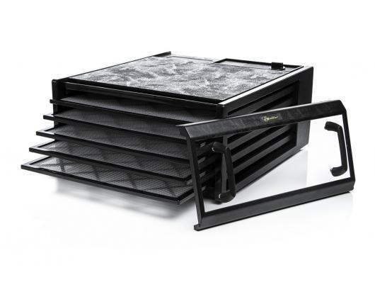 Vaisių, grybų, daržovių džiovyklė Excalibur 4500BCD, juoda