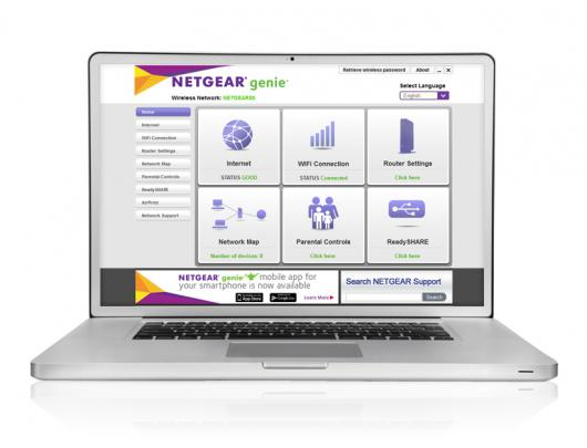 Maršrutizatorius Netgear R6220-100PES