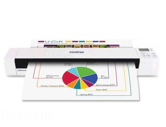 Skeneris Brother DS-820W Sheet-fed, Portable Scanner