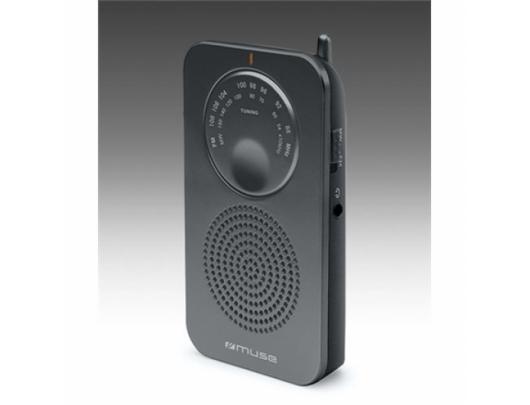 Radijo imtuvas Muse Pocket radio M-01 RS Black