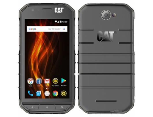 "Mobilus telefonas CAT S31 Black, 4.7"", TFT, 720 x 1280 pixels, Qualcomm Snapdragon, 210, Internal RAM 2 GB, 16 GB, microSD, Dual SIM, Nano-SIM, 3G, 4G, Main camera 8 MP, Secondary camera 2 MP, Android, 7.0, 4000 mAh"