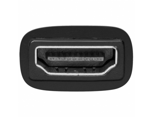 Kabelis Goobay 68482 Goobay HDMI/DVI-D adaptor, nickel plated DVI-D male Dual-Link (24+1 pin), HDMI female (Type A)