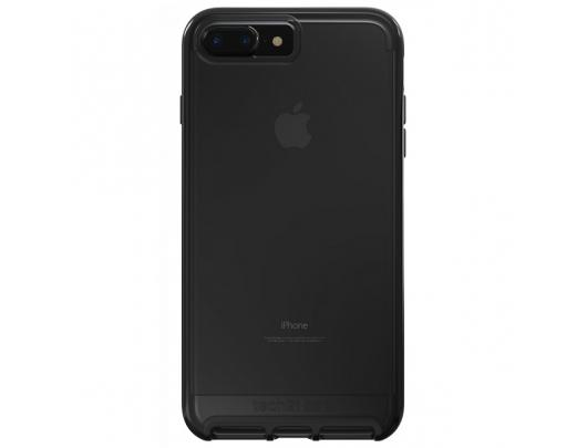 Dėklas Tech21 Evo Elite for iPhone 7 Plus / 8 Plus Brushed Juoda