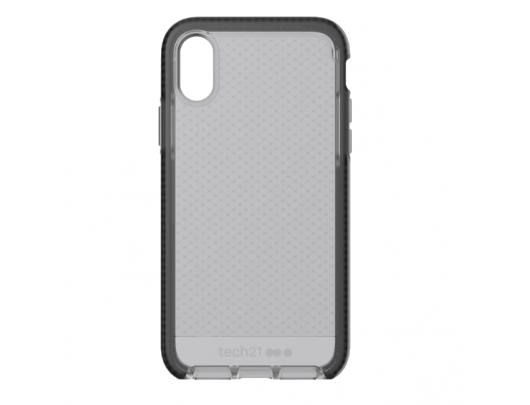 Dėklas Tech21 Evo Check for iPhone X, Smokey/Juoda
