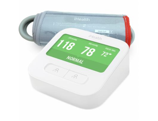 Kraujospūdžio matuoklis iHealth CLEAR wifi, baltas