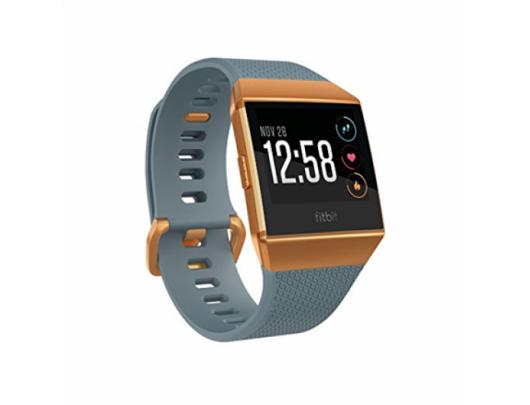 Išmanusis laikrodis Fitbit Ionic Slate Blue/Burnt Orange