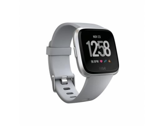 Išmanusis laikrodis Fitbit Versa (NFC), Gray / Silver Aluminumišmanusis laikrodis