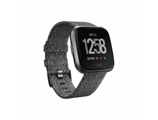 Išmanusis laikrodis Fitbit Versa (NFC), Special Edition Charcoal Woven išman. laikr.