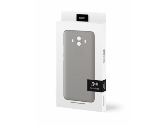 Dėklas 3MK Huawei, Mate 10, Polypropylene, Skaidrus Juoda