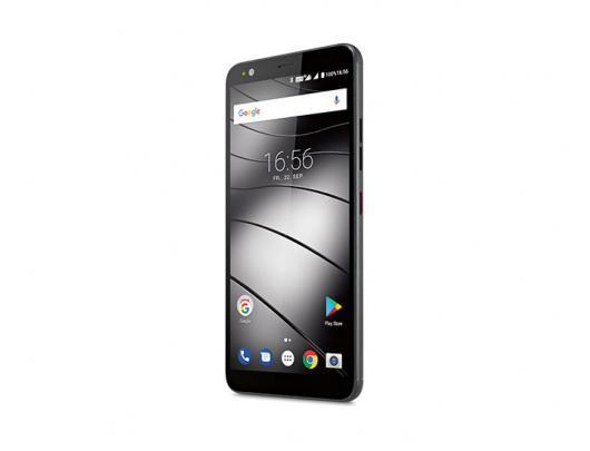 "Mobilusis telefonas GIGASET GS370 Black 5.7"" IPS 32 GB Dual SIM"