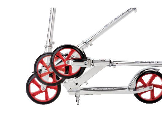 Paspirtukas Razor A5 Lux, sidabrinės sp.