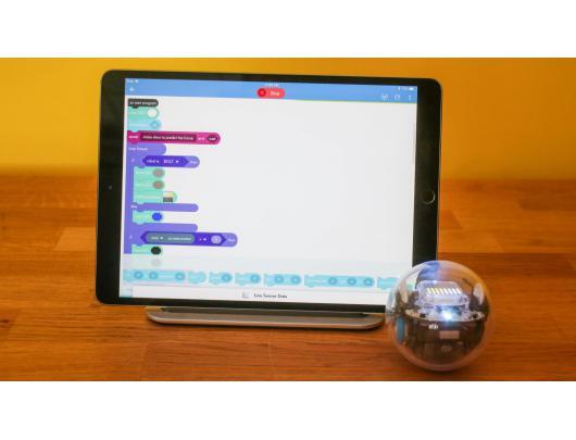 Edukacinis programuojamas riedulys Sphero BOLT