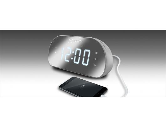 Radijo imtuvas Muse Clock radio M-170CMR Alarm function