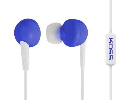 Ausinės Koss KEB6iB įstatomos į ausis, su mikrofonu