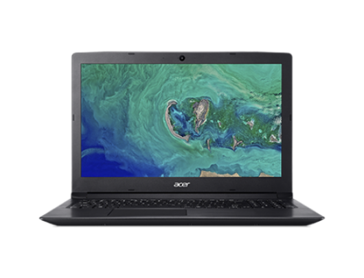 "Nešiojamas kompiuteris Acer Aspire 3 A315-53G Black 15.6"" FHD i3-7020U 6GB GeForce MX130 2GB Windows 10"
