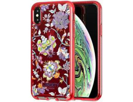 Dėklas Tech21 Pure Clear Liberty Christelle for iPhone X / Xs Raudona