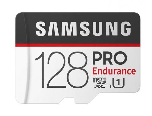 Atminties kortelė Samsung PRO Endurance 128GB Micro SDXC CL10 su SD adapteriu