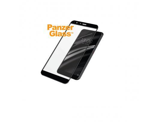 Ekrano apsauga PanzerGlass 4601 Gigaset, GS 370/GS 370 Plus, grūdintas stiklas, skaidrus/Juoda