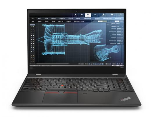 "Nešiojamas kompiuteris Lenovo ThinkPad P52s Black 15.6"" IPS FHD i7-8550U 16GB Quadro P500 2GB Windows 10 Pro"