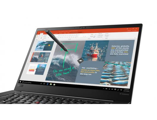 """Nešiojamas kompiuteris Lenovo ThinkPad X1 Extreme Black 15.6"""" Touch 4K i7-8750H 32GB 512GB SSD GeForce 1050 Ti 4 GB Windows 10 Pro"""