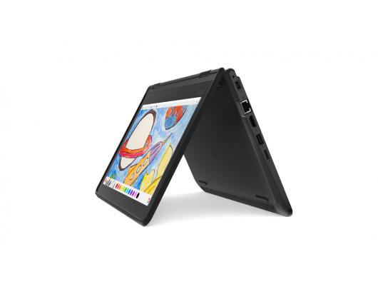 """Nešiojamas kompiuteris Lenovo ThinkPad Yoga 11e Black 11.6"""" IPS TOUCH m3-7Y30 4GB Windows 10"""