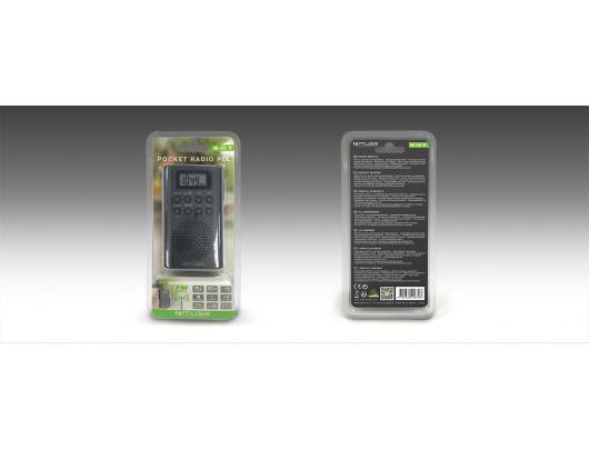Radijo imtuvas Muse Pocket radio M-03R