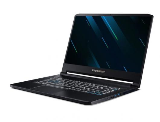 "Nešiojamas kompiuteris Acer Predator Triton 500 Black 15.6"" IPS Full HD i7-9750H 16 GB 512 GB SSD NVIDIA GeForce RTX 2060 6 GB Windows 10"