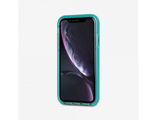 Dėklas TASSO Tech21 Evo Check T21-6108, Apple, iPhone XR, Žalia