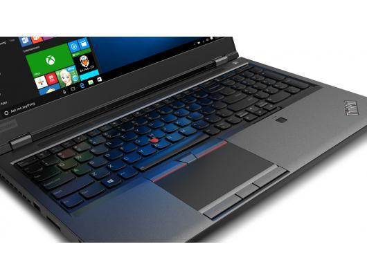 "Nešiojamas kompiuteris Lenovo ThinkPad P52 Black 15.6"" IPS Full HD i9-8950HK 32 GB 1 TB SSD NVIDIA Quadro P3200 6 GB Windows 10 Pro"