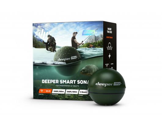 Žuvų ieškiklis Deeper Smart Sonar Chirp+