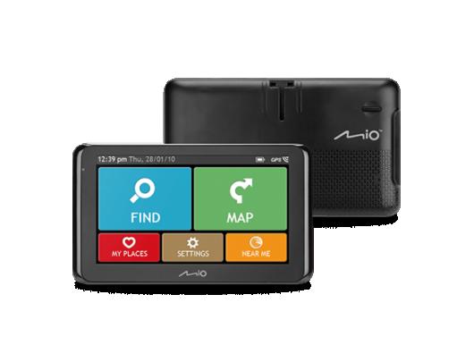 """GPS navigacija sunkvežimiams Mio Spirit 8670 6.2"""" (15,7 cm) Bluetooth"""