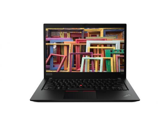 "Nešiojamas kompiuteris Lenovo ThinkPad T490s Black 14"" IPS Full HD i5-8265U 16 GB 256 GB SSD Windows 10 Pro"