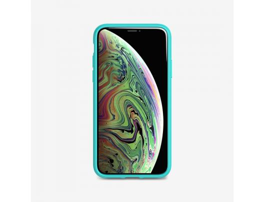 Dėklas Tech21 Studio Spalvotas T21-7749, Apple, iPhone X/XS, Plant-based materials, Turquoise