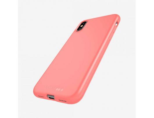 Dėklas Tech21 Studio Spalvotas T21-7750, Apple, iPhone X/XS, Plant-based materials, Rožinė