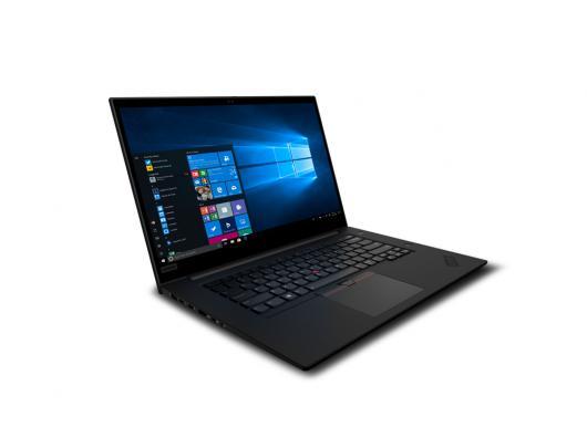 "Nešiojamas kompiuteris Lenovo ThinkPad P1 Black 15.6"" IPS FHD i7-9750H 16GB 512GB SSD NVIDIA Quadro T1000 4 GB Windows 10 Pro"
