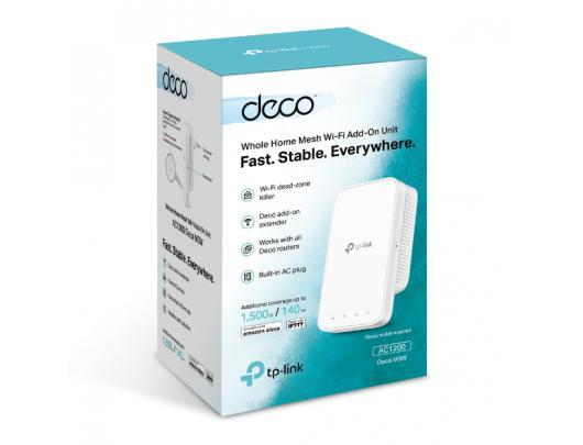 Wifi praplėtimo stotelė TP-LINK WiFi Add-On Unit Deco M3W 802.11ac