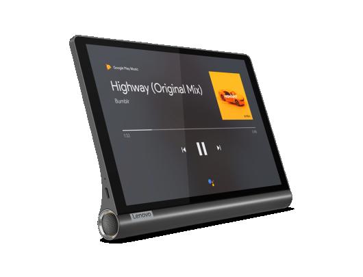 "Planšetinis kompiuteris Lenovo Yoga Smart Tab YT-X705L 10.1"" 64GB 4G LTE Iron Grey"