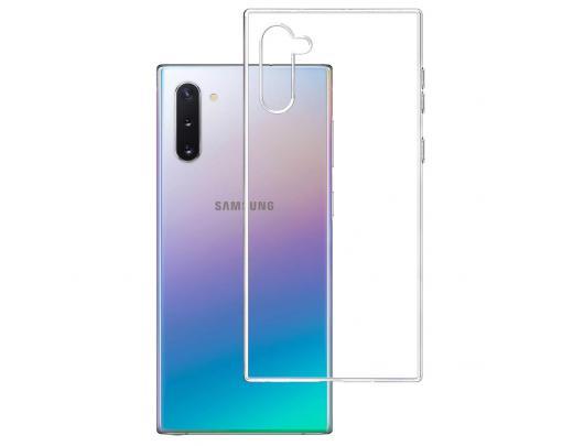 Dėklas 3MK Clear, Samsung, Galaxy Note 10, TPU, Skaidrus