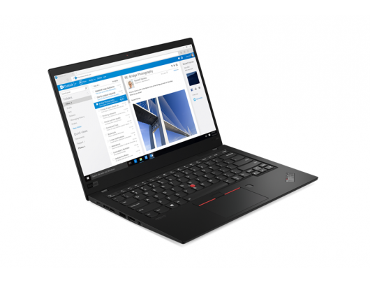 "Nešiojamas kompiuteris Lenovo ThinkPad X1 Carbon (7th Gen) Black 14"" IPS i7-8565U 16GB 1TB SSD 4G LTE Intel UHD Windows 10 Pro"